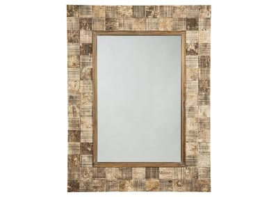 Ivanna Brown Accent Mirror