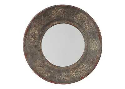 Image for Carine Gray Accent Mirror