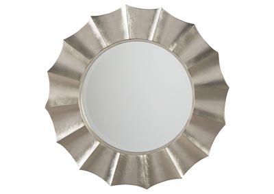 Elsley Silver Finish Accent Mirror