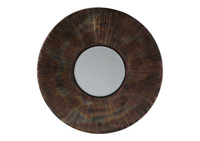 Image for Bartleby Copper/Bronze Finish Accent Mirror