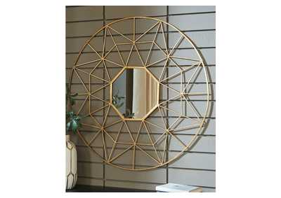 Bulana Yellow Accent Mirror