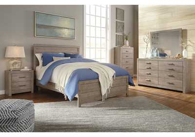 Culverbach Gray Bedroom Dresser w/Mirror,Signature Design By Ashley