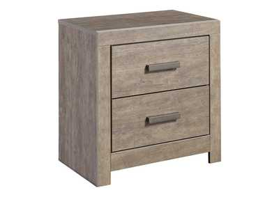 Image for Culverbach Gray Two Drawer Night Stand
