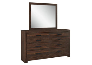 Arkaline Brown Bedroom Mirror