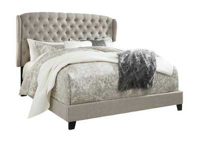 Image for Jerary Gray King Upholstered Bed