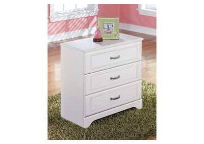 White Loft Drawer Storage