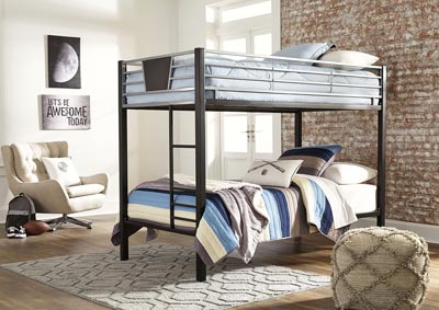 Dinsmore Twin/Twin Bunk Bed w/Ladder,Signature Design By Ashley