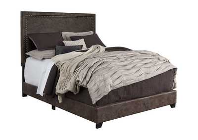Image for Dolante Brown Queen Upholstered Bed