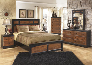 Aimwell Bedroom Dresser w/Mirror,Signature Design By Ashley