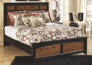 Aimwell Queen Panel Bed,48 Hour Quick Ship