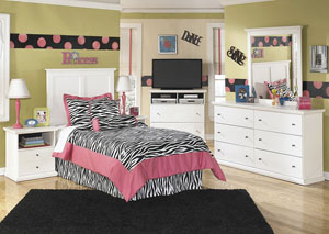 Image for Bostwick Shoals Twin Panel Headboard, Dresser & Mirror