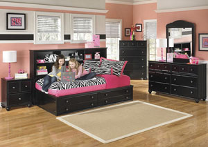 Jaidyn Twin Bookcase Bed,Signature Design By Ashley
