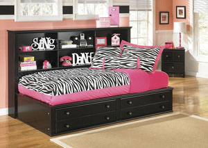 Jaidyn Twin Bookcase Bed
