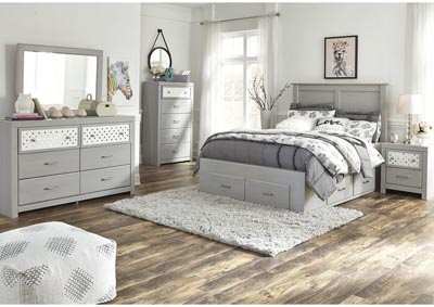 Image for Arcella Gray Full Storage Bed w/Dresser and Mirror