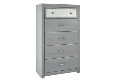 Arcella Gray Chest of Drawers