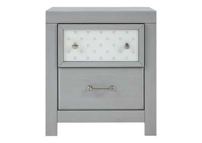 Arcella Gray Nightstand,Signature Design By Ashley