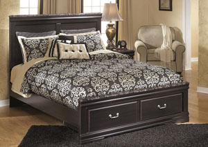 Esmarelda Queen Storage Bed