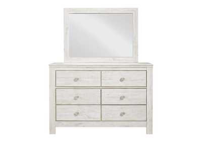 Image for Paxberry Whitewash Dresser and Mirror