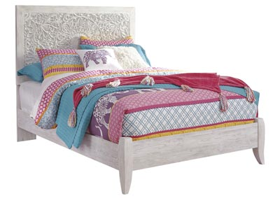 Paxberry White Wash Full Panel Bed,Signature Design By Ashley