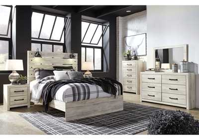 Cambeck King Panel Bed w/Dresser & Mirror