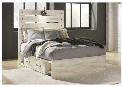Cambeck Full Panel Bed with 4 Underbed Storage Drawers,Signature Design By Ashley