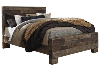 Image for Derekson Gray King Panel Bed