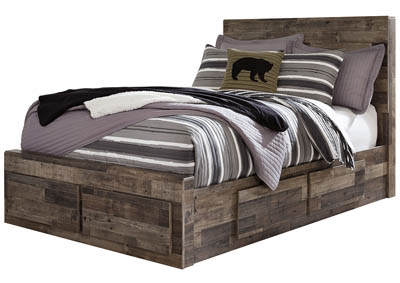 Image for Derekson Multi Gray Full Storage Bed