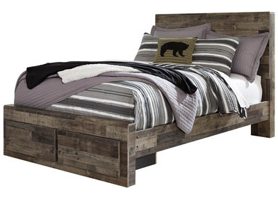 Derekson Multi Gray Full Platform Bed