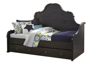Corilyn Dark Brown Twin Storage Daybed