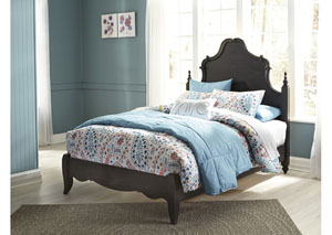 Corilyn Dark Brown Full Poster Bed