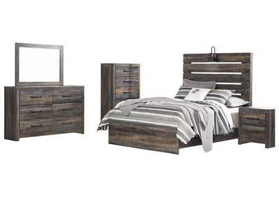 Image for Drystan Full Panel Bed w/Dresser & Mirror