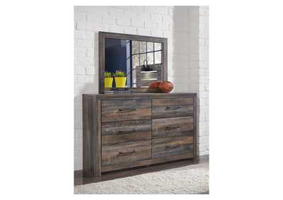 Image for Drystan Wooden Dresser w/Mirror