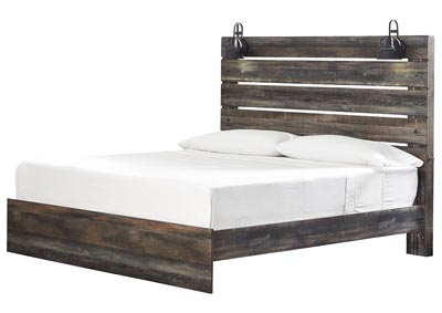 Image for Drystan Multicolor King Panel Bed