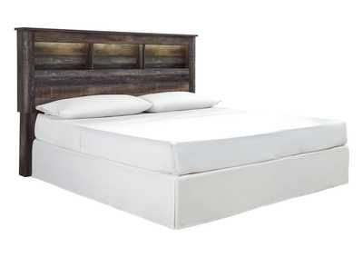 Image for Drystan King Bookcase Headboard