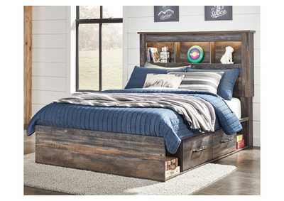 Drystan Multicolor Full Storage Bed