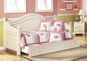 Cottage Retreat Day Bed w/Trundle