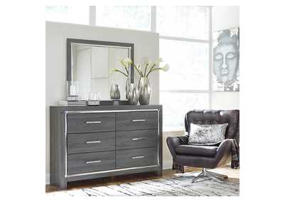Image for Lodanna Gray Dresser w/Mirror