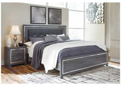 Image for Lodanna Gray King Panel Bed