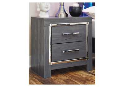 Lodanna Gray Nightstand