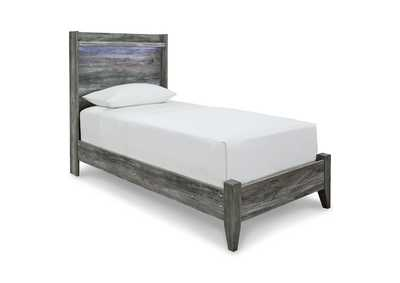 Image for Baystorm Gray Twin Panel Bed