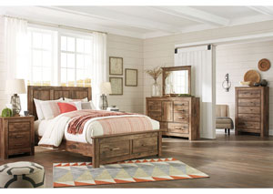 Blaneville Brown Bedroom Dresser w/Mirror