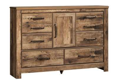 Blaneville Brown Dresser