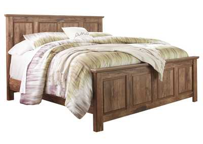 Blaneville Brown King Panel Bed
