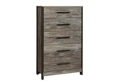 Cazenfeld Black/Gray Drawer Chest