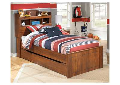 Barchan Twin Bookcase Bed w/Trundle