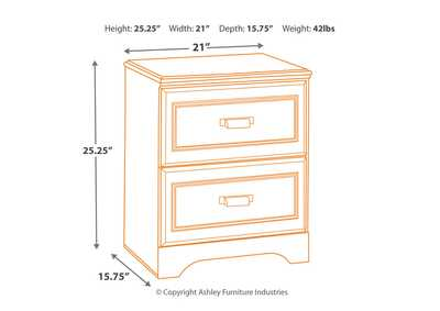 Barchan Night Stand,Signature Design By Ashley