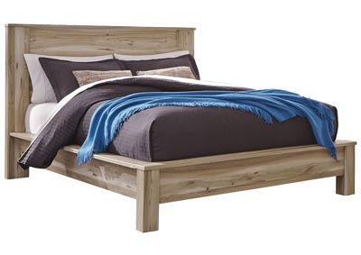 Kianni Taupe Queen Platform Bed