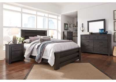 Image for Brinxton Black Queen Panel Bed
