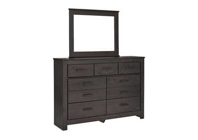 Brinxton Black Bedroom Dresser w/Mirror
