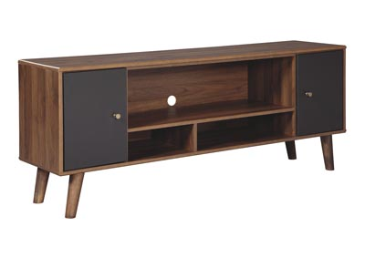 Daneston Brown/Graphite Media Chest
